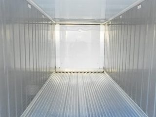 Reefer container interior