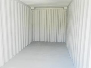 Interior of a DNV container