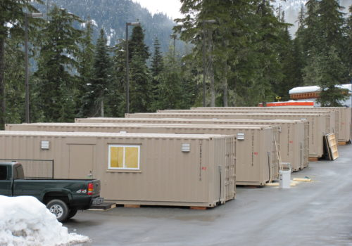 VANOC Office Containers in Whistler