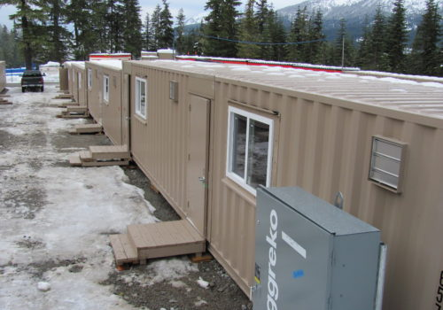 VANOC Office Containers Row