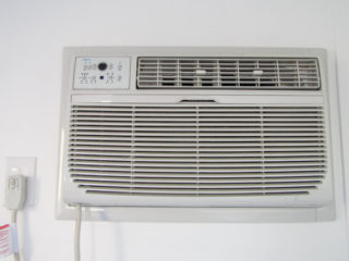 Northern Deluxe office AC unit.