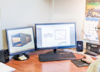 Custom Manufacturing - Designing custom floorplan from concept render.