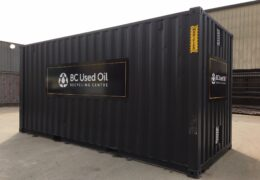 Home Page- BC Oil Association Container exterior view