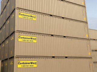 Rentals Fleet - 40' Standard containers