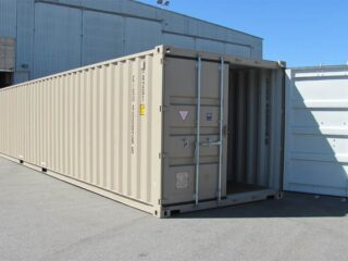 40'Single-Door-Shipping-containers-Exterior-View-One-door-Opened