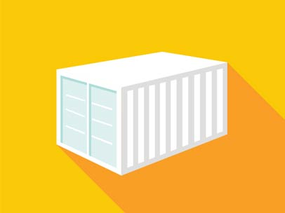 Basic-Container-20'-single-door-container-icon