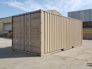 Extra Wide Containers for car storage, boat storage or RV's storage