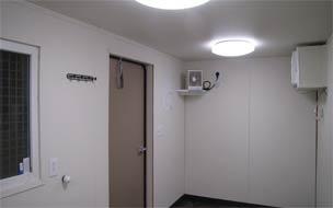Fluorescent lighting option