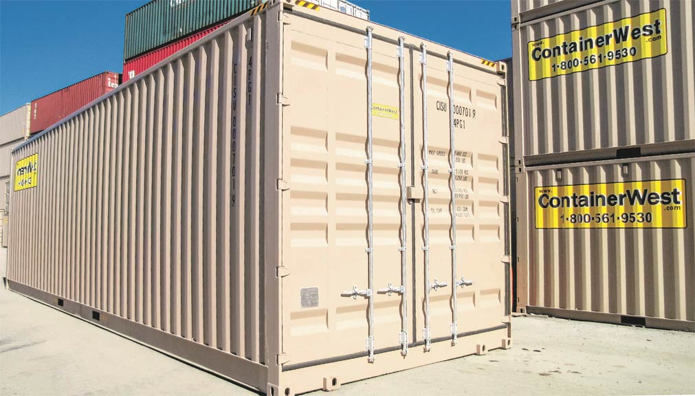 Container Sales Rentals Containerwest Manufacturing Ltd