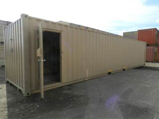 Insulated & Heated Container - 40'